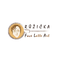 Růžička Face Latte Art